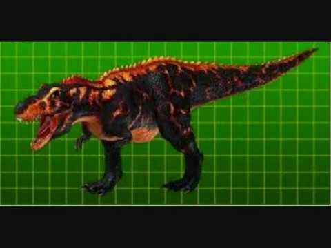 tamaños compartivos de dinosaurios