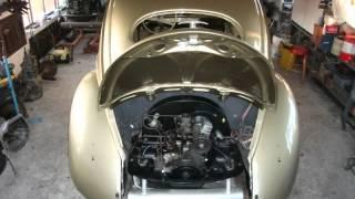 VW FUSCA 1956 - RESTAURAÇÃO COMPLETA PASSO-A-PASSO NA HUNGRIA em 2011