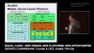 Social, Casino - New Trends, New Platforms, New Opportunities   Gerard CUNNINGHAM