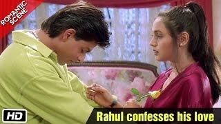 Rahul confesses his love - Romantic Scene - Kuch Kuch Hota Hai - Shahrukh Khan, Rani Mukerji