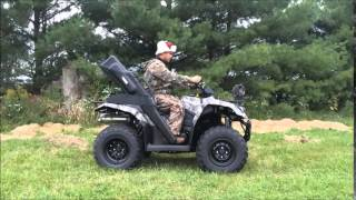 9. KingQuad 400 hunting