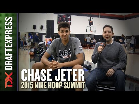 Chase Jeter - 2015 Hoop Summit - DraftExpress Interview