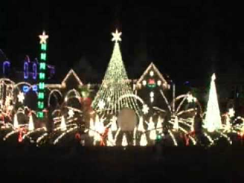 We round up the best mega-watt displays of Christmas lights—and musical accompaniment.
