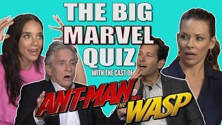 Video The cast of 'Ant Man and The Wasp' take our Big Marvel Quiz! MP3, 3GP, MP4, WEBM, AVI, FLV Desember 2018
