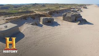 A massive storm in 2008 unearthed German bunkers in Denmark that still held the soldiers' belongings in this clip from Season 2,...