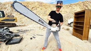 What's inside a Chainsaw? by What's Inside?