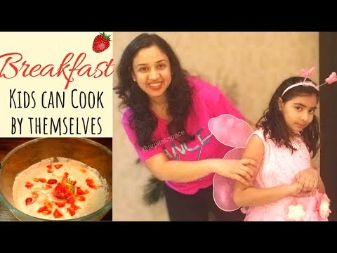 Easy Recipe Kids Can Make By Themselves|Cooking With Kids|Arpita's Space