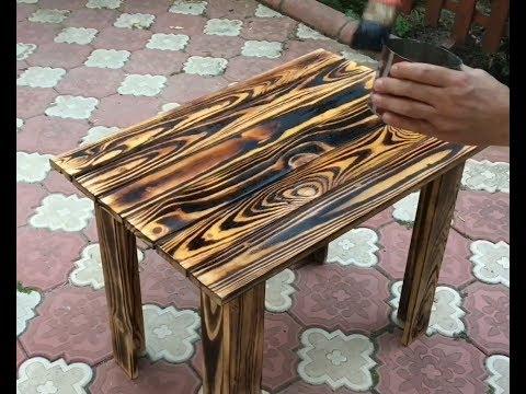 Ahşap pallet ile masa yapımı