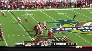 Jermarcus Hardrick vs South Carolina vs  ()
