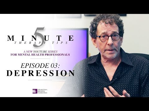 5 Minute Therapy Tips - Episode 03: Depression