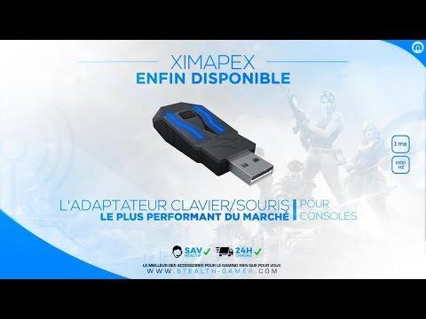 XIM APEX Adaptateur de souris et clavier précision pour des consoles