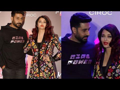 Aishwarya Rai and Abhishek Bachchan Strike A Pose