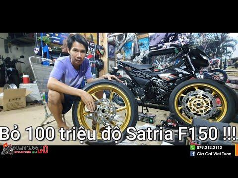 Bỏ 100 triệu độ Satria F150 bởi Kỹ Sư Hẻm !!! - Thời lượng: 18 phút.