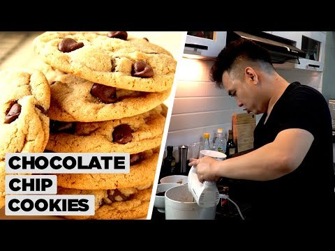 CHOCOLATE CHIP COOKIES (BÁNH QUY BƠ SOCOLA) | MUỐN ĂN THÌ LĂN VÀO BẾP - Thời lượng: 11 phút.