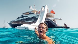 Download Video THE SUPER YACHT LIFE IN IBIZA! | VLOG² 50 MP3 3GP MP4
