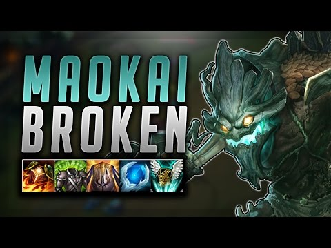 MOST BROKEN TANK IN THE GAME! MAOKAI GOD OF TOP SEASON 7 - Road To Challenger #37