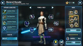 Per guild rules 1 attack P1, 1 attack P2, 2 Attacks P3 and 1 attack P4. Unlocked General Kenobi so this will be the last until everyone has him. I created this video with the YouTube Video Editor (http://www.youtube.com/editor)Watch me play Star Wars™: Galaxy of Heroes!I created this video with the YouTube Video Editor (http://www.youtube.com/editor)