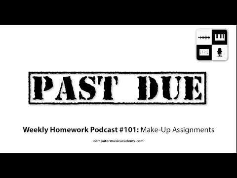 image for TaurusBeats Music On CMA Weekly Homework Podcast 101