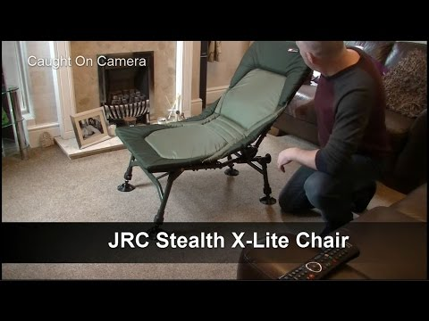 A review of the JRC Stealth fishing Chair.