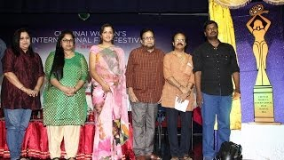 Chennai Women's International Film Festival Press Meet