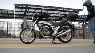 9. Sound of Moto Guzzi Breva 750 with Lafranconi exhaust