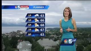 We get a break from the rain WednesdaySubscribe to WPTZ on YouTube now for more: http://bit.ly/1e9vG0jGet more Burlington/Plattsburgh news: http://wptz.comLike us: http://facebook.com/5WPTZFollow us: http://twitter.com/WPTZGoogle+: https://plus.google.com/+WPTZ