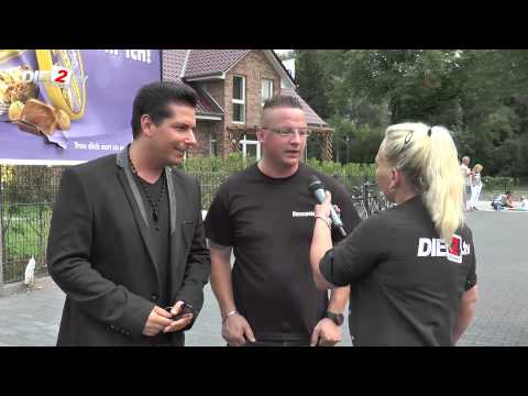 Interview mit Andy Andress und Jeffrey in Xanten
