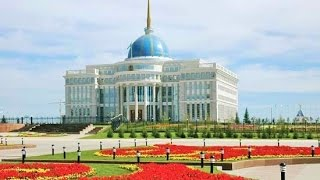 Akmola Kazakhstan  city photo : Driving in Astana Street Scenes Kazakhstan Trip Travel Video Guide