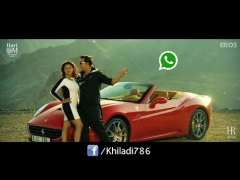 Long Drive Song - Khiladi 786 Ft. Akshay Kumar & Asin Whatsapp Status And Ringtone