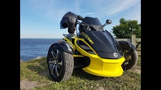 8. Ride on CANAM Spyder RSS 2014 . Charlevoix , LaMalbaie