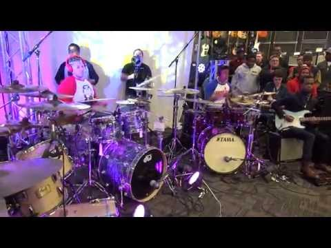 Mega Drum Shed 2014 Live @ Guitar Center – THE BEST DRUM SHED EVER!!! style