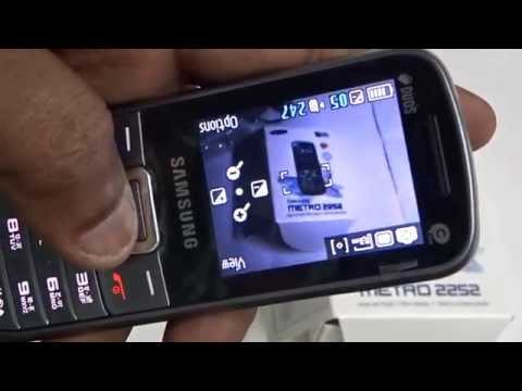 Samsung E2252 Mobile Unboxing Video