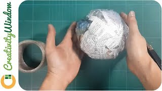 Here is how to easily and quickly make your own paper ball which you can use as base in making an artificial pomander and topiary.This is an Eco-friendly and economical alternative for floral foam or Styrofoam ball.MUSIC 1:Beach Party - Islandesque by Kevin MacLeod is licensed under a Creative Commons Attribution license (https://creativecommons.org/licenses/by/4.0/)Source: http://incompetech.com/music/royalty-free/index.html?isrc=USUAN1100613Artist: http://incompetech.com/ MUSIC 2:Gaslamp Funworks by Kevin MacLeod is licensed under a Creative Commons Attribution license (https://creativecommons.org/licenses/by/4.0/)Source: http://incompetech.com/music/royalty-free/index.html?isrc=USUAN1100826Artist: http://incompetech.com/