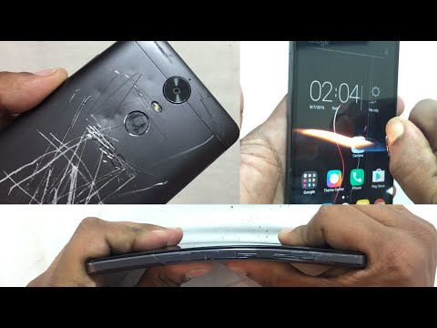 Lenovo Vibe K5 Note - Scratch test, Burn test, Hitting test, Bend test