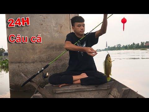 Thử Thách 24 Giờ Câu Cá Trên Sông - Thời lượng: 26:45.
