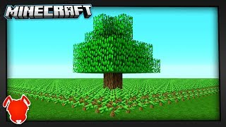 Planting 20,000,000 Trees in... Minecraft?!
