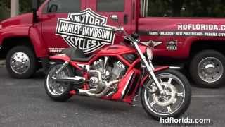6. Used 2005 Harley Davidson CVO V-Rod Motorcycles for sale
