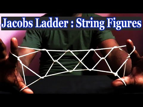 How to do Jacobs Ladder Step by Step - String Figure - Devoyta