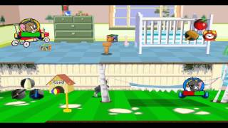 Tom And Jerry Housetrap - Walkthrough Part 13 - Lawn And Order - EPSXe 1.8.0 - 720p