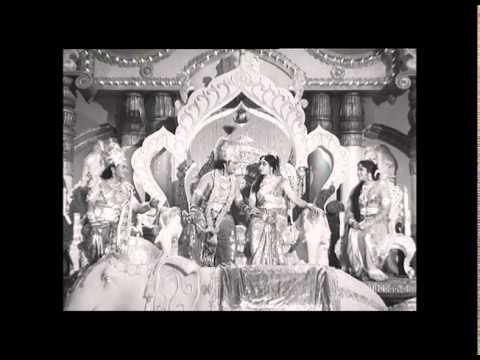 Sri Krishna Tulabharam Full Length Movie Parts:04/10 |NTR,Anjali,Jamuna