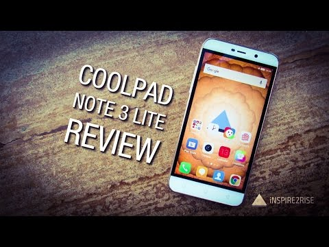 Coolpad Note 3 Lite review with unboxing