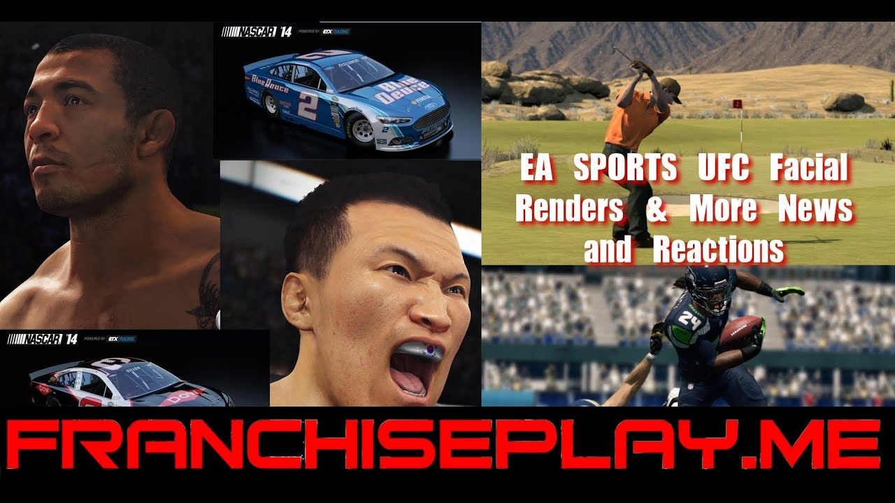 EA Sports UFC Facial Renders, Madden, The Golf Club, PES 2015 and More
