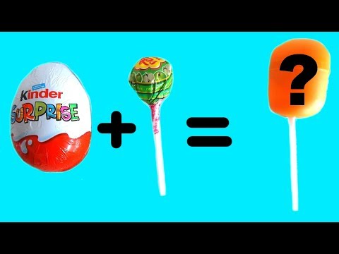 5 AMAZING MOM HACKS Kinder Eggs Lollipop Crafts