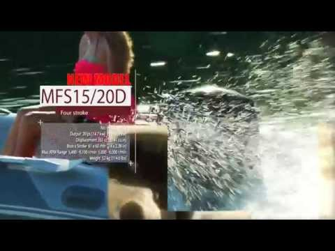 Tohatsu Video showcasing the 4 Stroke MFS line of Tohatsu Outboard engines which range in size from 2.5HP, 3.5HP, 4HP, 5HP, 6HP, 8HP, 9.8HP, 15HP, 20HP, 25HP, 30HP, 40HP, and 50HP