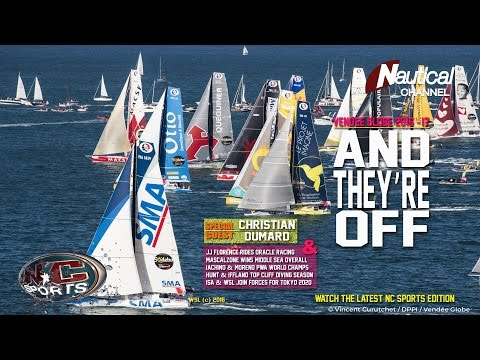 NC Sports  Nov 4| Vendée Globe Kickoff, Florence Rides Oracle, PWA & Cliff Diving World Titles