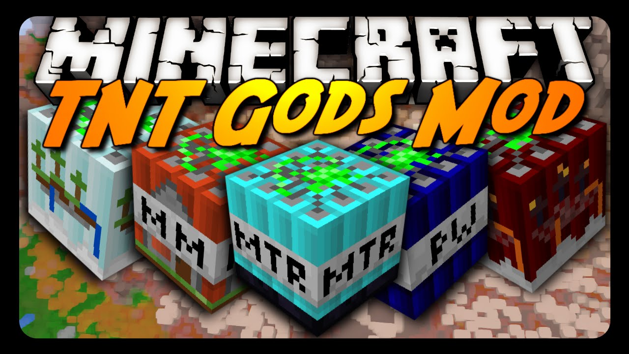 Minecraft: THE TNT GODS MOD! (Too Much TNT)