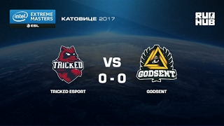 Tricked eSports vs. Godsent- IEM Katowice EU - map2 - de_mirage [yxo, Enkanis]