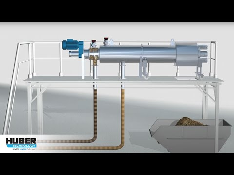 Animation: Function and components of STRAINPRESS® Sludgecleaner SP