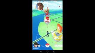 Se när jag spelar Pokémon GO!