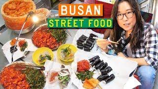 Video KOREAN STREET FOOD at Gukje Market in Busan MP3, 3GP, MP4, WEBM, AVI, FLV April 2019